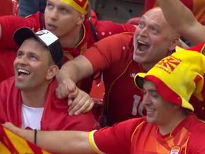 תקציר: נבחרת אוסטריה - נבחרת צפון מקדוניה 1:3. ספורט 2