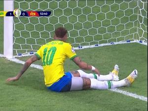 תקציר: ברזיל - ונצואלה 0:3. ספורט1, צילום מסך