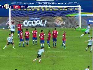 תקציר: ארגנטינה - צ'ילה 1:1. ספורט 2