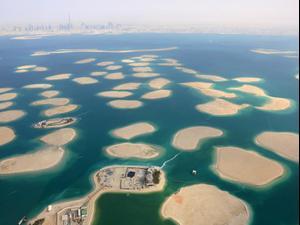 פרויקט איי העולם בדובאי. ShutterStock