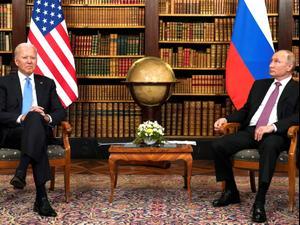 """פסגת ביידן-פוטין: """"נפעל יחד למנוע מאיראן נשק גרעיני,  השגרירים יוחזרו"""" 17.6.21. רויטרס"""