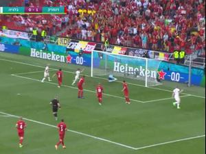 תקציר: דנמרק - בלגיה 2:1. ספורט 2