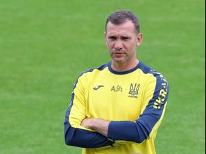 אנדריי שבצ'נקו מאמן נבחרת אוקראינה. רויטרס