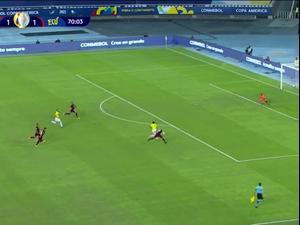 תקציר: פרו - קולומביה 1:2. ספורט1, צילום מסך
