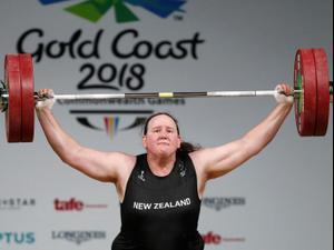 לורל הובארד מרימת משקולות ניו זילנדית. רויטרס