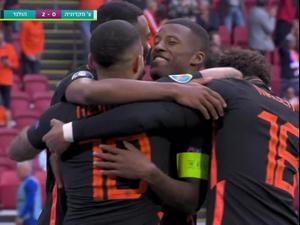 תקציר: הולנד - צפון מקדוניה 0:3. ספורט 2