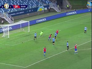 תקציר: אורוגוואי - צ'ילה 1:1. ספורט 1, צילום מסך