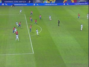 תקציר: ארגנטינה - פרגוואי 0:1. ספורט 1, צילום מסך