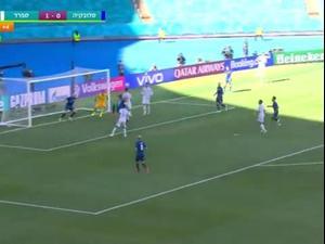 תקציר: סלובקיה - ספרד 5:0. ספורט 1, צילום מסך