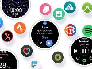 ממשק המשתמש החדש One UI Watch. סמסונג,