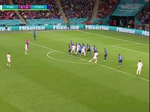 תקציר חצי גמר היורו: איטליה - ספרד 2:4 בפנדלים (1:1 ב-120 דקות). ספורט 1