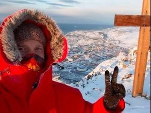 ככה נראים החיים בקוטב הדרומי. joespinstheglobe, צילום מסך