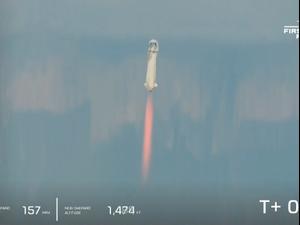 מרוץ המיליארדים: מייסד אמזון ג'ף בזוס המריא לחלל 20.07.21. רויטרס
