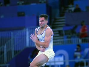 המתעמל הישראלי אלכס שטילוב. באדיבות הוועד האולימפי של ישראל, אתר רשמי