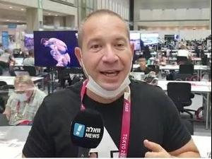 יניב טוכמן מסכם את היום הרביעי של אולימפיאדת טוקיו. ., צילום מסך