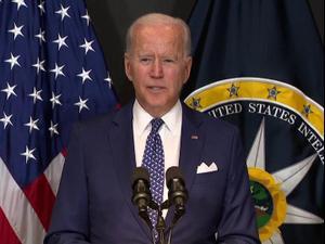 """ביידן מאשים את רוסיה בניסיונות להתערב בבחירות 2022 בארה""""ב 28.7.21. רויטרס"""