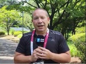 יניב טוכמן שליח וואלה! ספורט לטוקיו. מערכת וואלה, צילום מסך