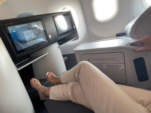 לנחיתה רעננה: מושבי ביזנס לטיסה מתתל אביב לפריז וניו יורק. וואלה!כסף, מערכת וואלה!