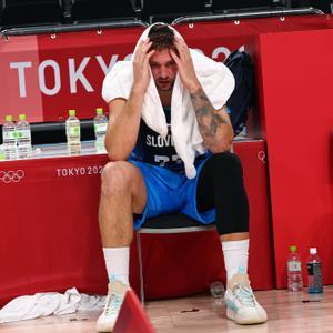שחקן נבחרת סלובניה לוקה דונצ'יץ'. רויטרס