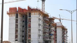 בניינים בבנייה בנתיבות. ראובן קסטרו