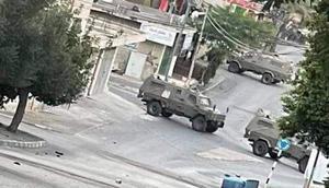 """ירי כבד לעבר כוחות צה""""ל במהלך פעילות מבצעית באזור ג'נין"""