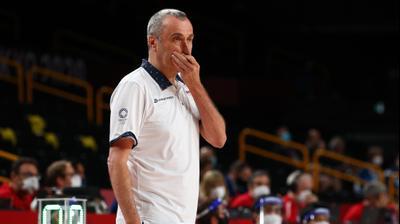 מאמן נבחרת צ'כיה בכדורסל ננו גינזבורג. רויטרס