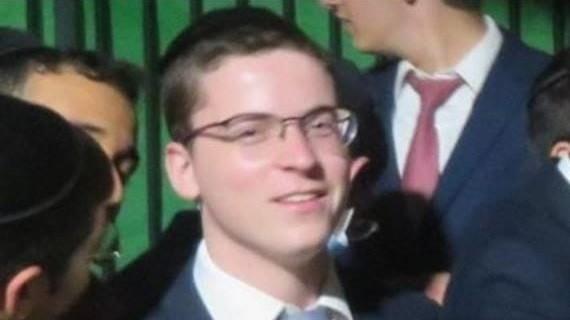 שלמה זלמן ליבוביץ', בן 19 מצפת הרוג באסון בהר מירון. באדיבות המשפחה