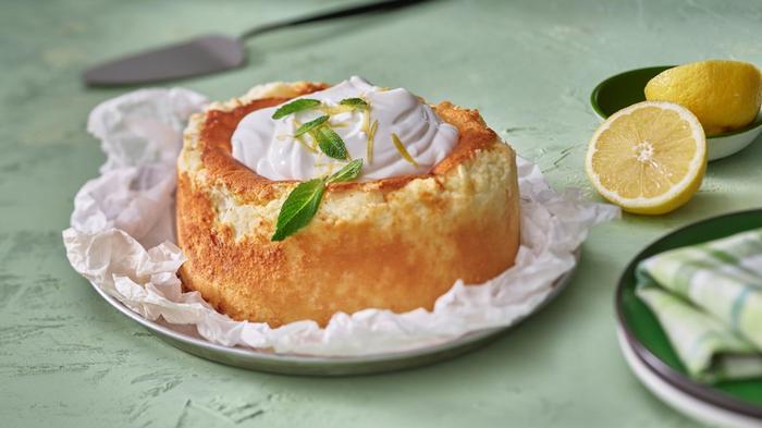 עוגת גבינה אפויה קלאסית. באדיבות משק צוריאל,