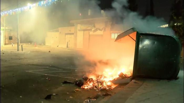 מהומות בלוד 12 במאי 2021. אתר רשמי, מערכת וואלה!