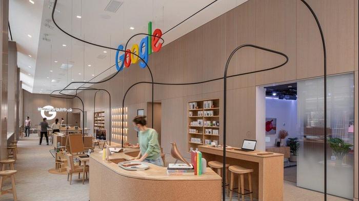 חנות גוגל בניו יורק. גוגל,