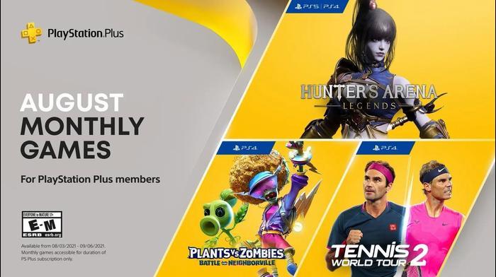 PS Plus August. סוני, אתר רשמי