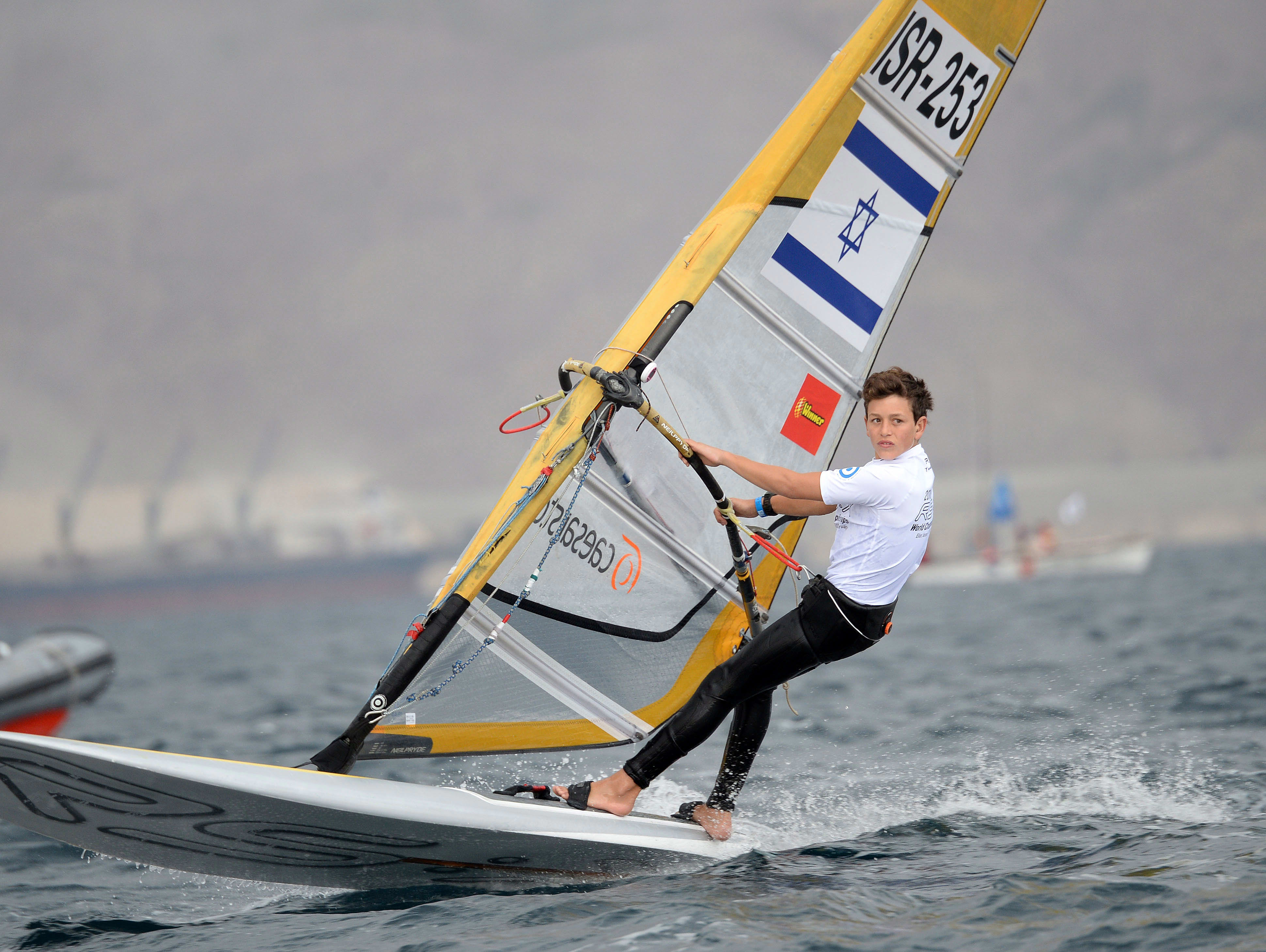 גולש ה-RSX יואב כהן מדורג שני בתחרות הגלשנים באגם מדמבליק