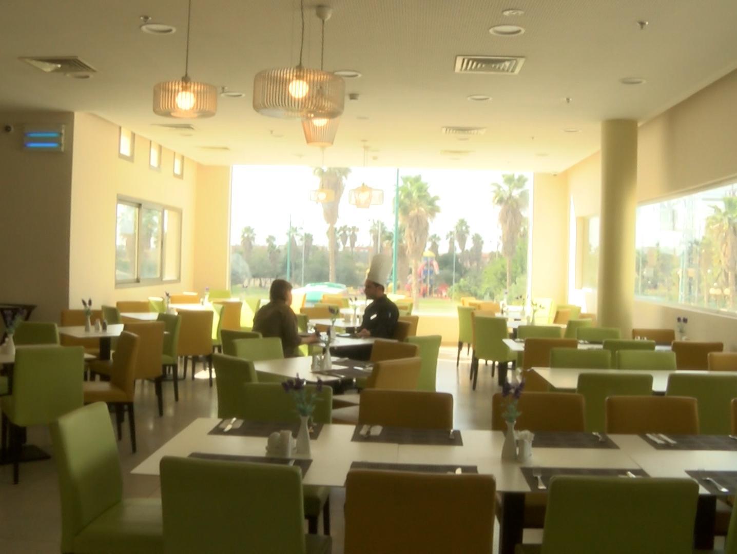 אירוס המדבר- המלון החברתי בירוחם ממצב עצמו על מפת התיירות