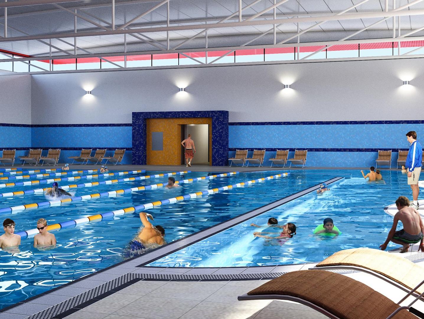 המים של השכן לא כחולים יותר: בקיץ הבא יוכלו ילדי רהט לרחוץ בבריכה שתיבנה בעיר