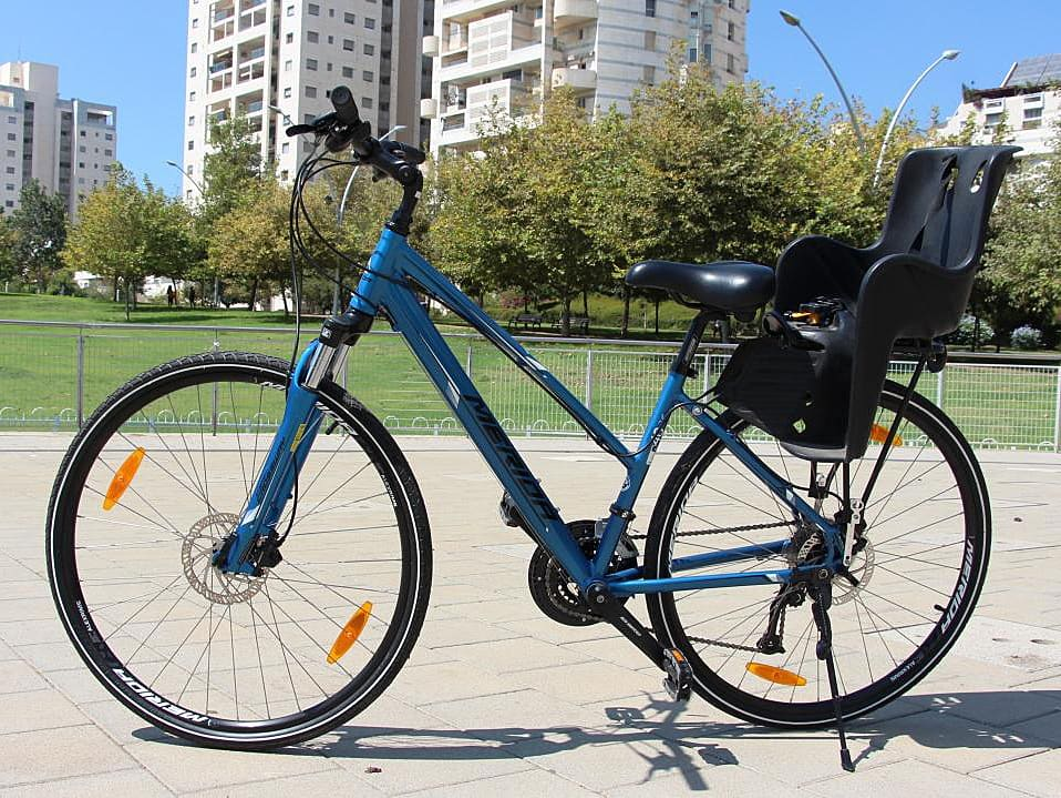 מבחן: אופניים היברידיים, MERIDA CROSSWAY 40
