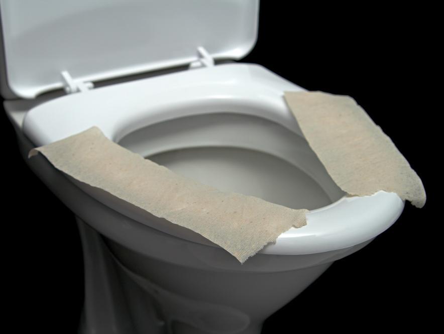 הסיבה המגעילה בגללה אסור לרפד את מושב האסלה בשירותים ציבוריים