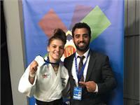 ג'ודו: מדליית זהב לבטי טמלקובה באליפות אירופה עד גיל 23