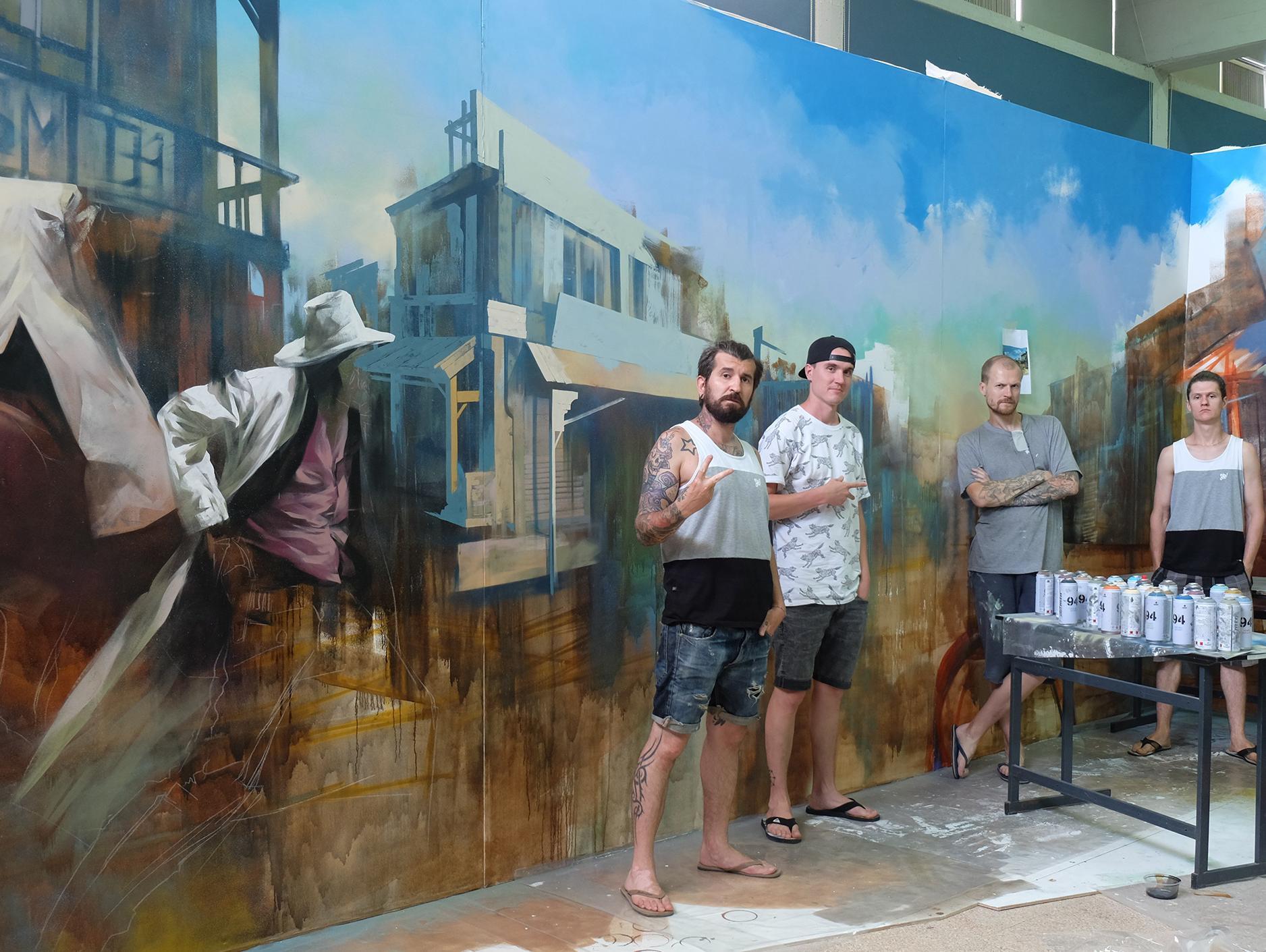 לראשונה בבאר שבע: תערוכה בינלאומית של 5 אמנים