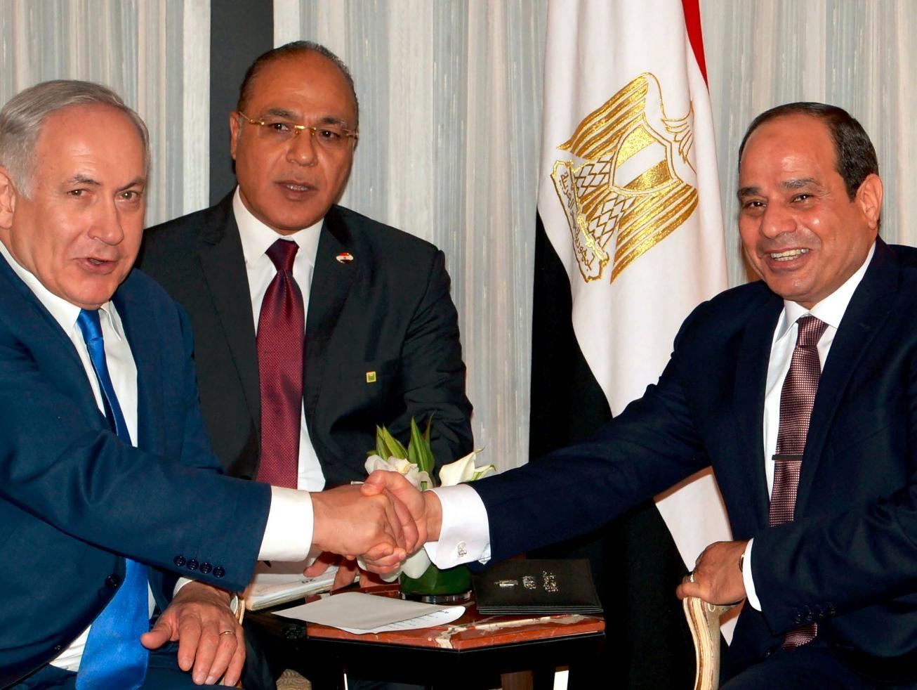 דיווח: נתניהו וא-סיסי נפגשו במצרים ודנו בהסדרה מדינית ברצועה