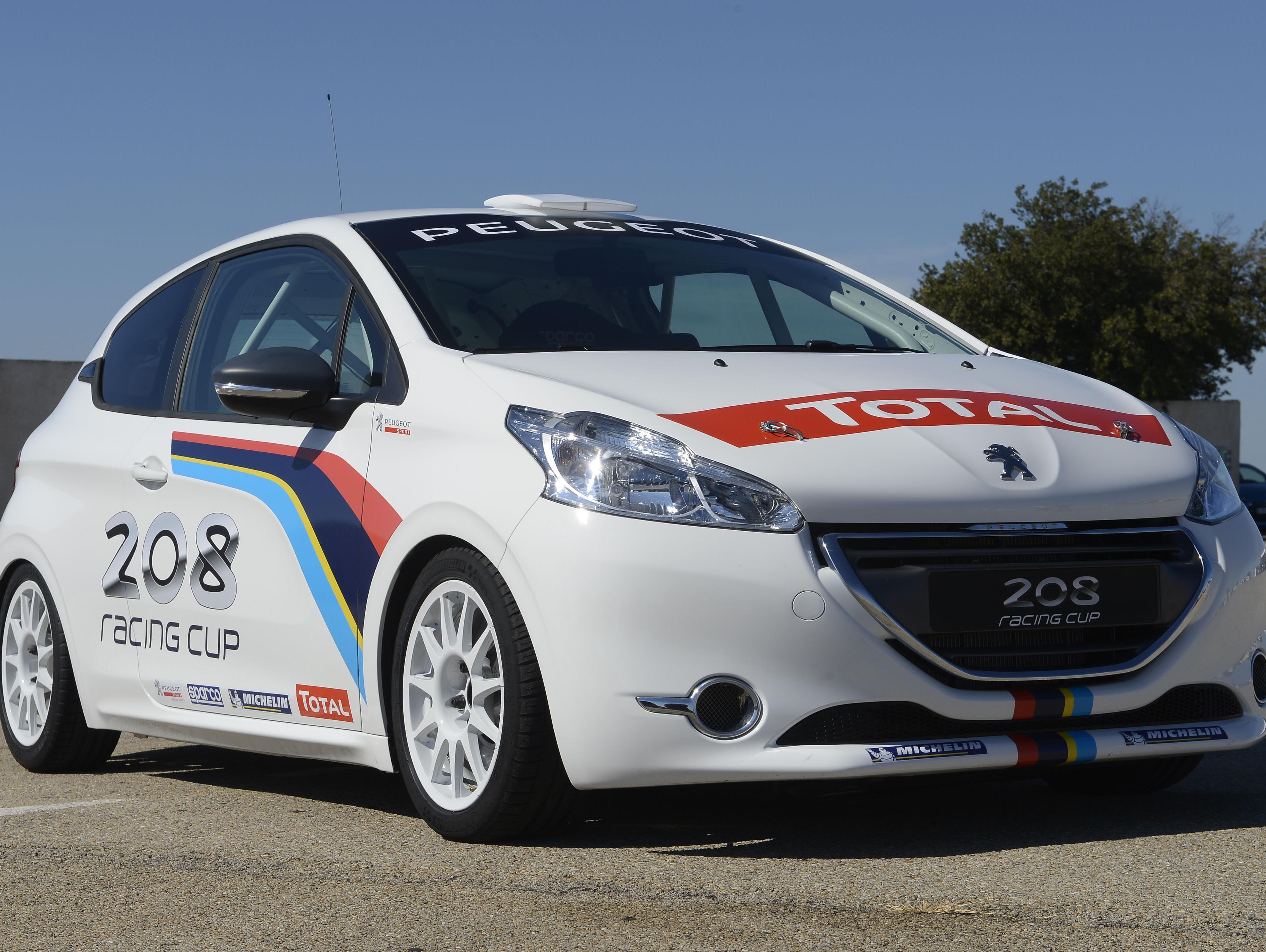 פיג'ו 208 CUP לאליפות ישראל למירוצי מכוניות