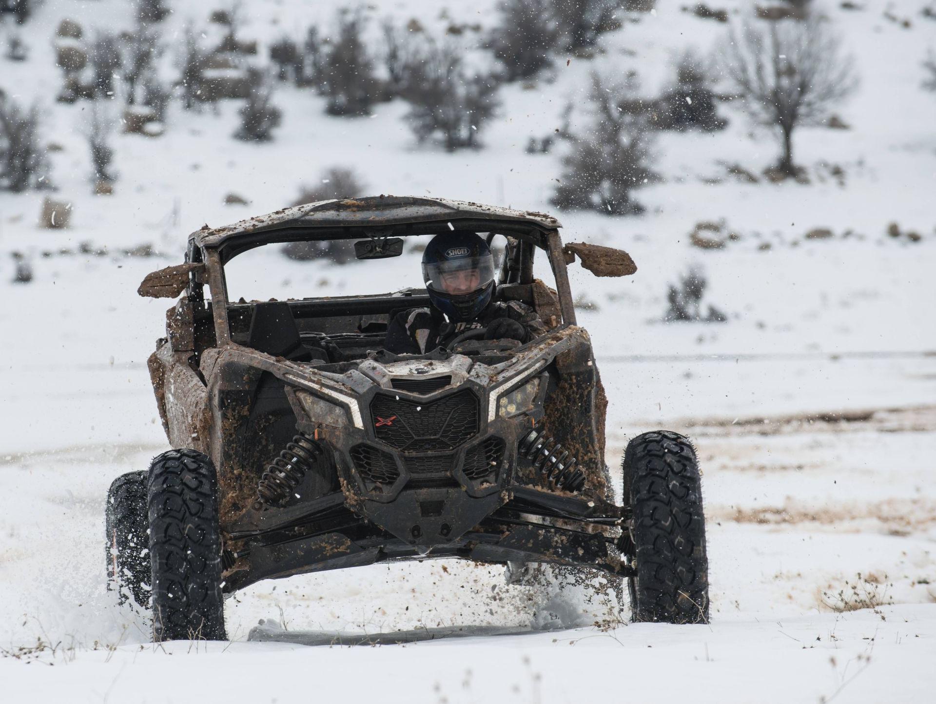 המרדף אחרי השלג הישראלי, עם מאבריק X3 טורבו