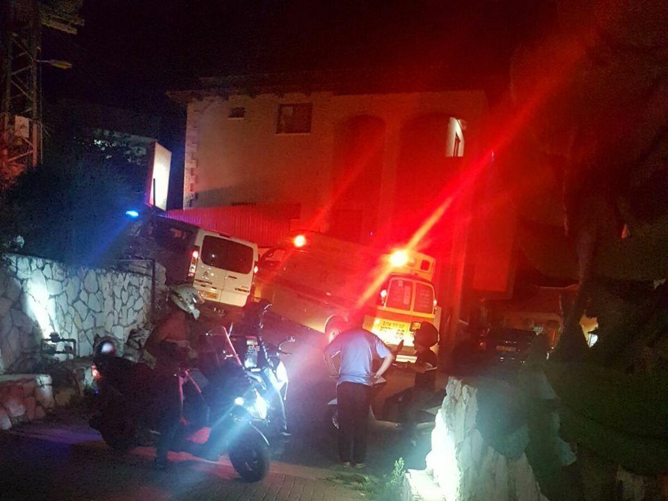 חשד לרצח כפול: קרובי משפחה בני 49 ו-13 נורו למוות באום אל-פחם