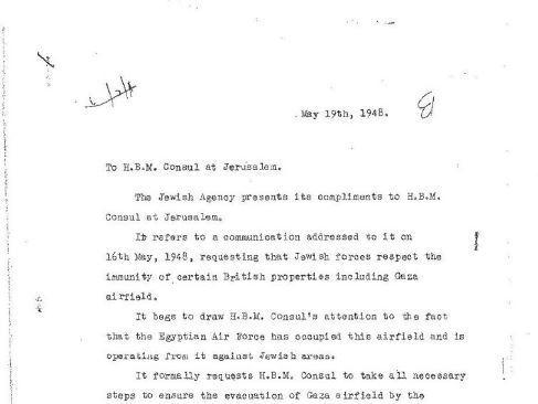 מינוי שרים, המצור בי-ם וביזה בחיפה: ימיה הראשונים של ישראל במסמכים