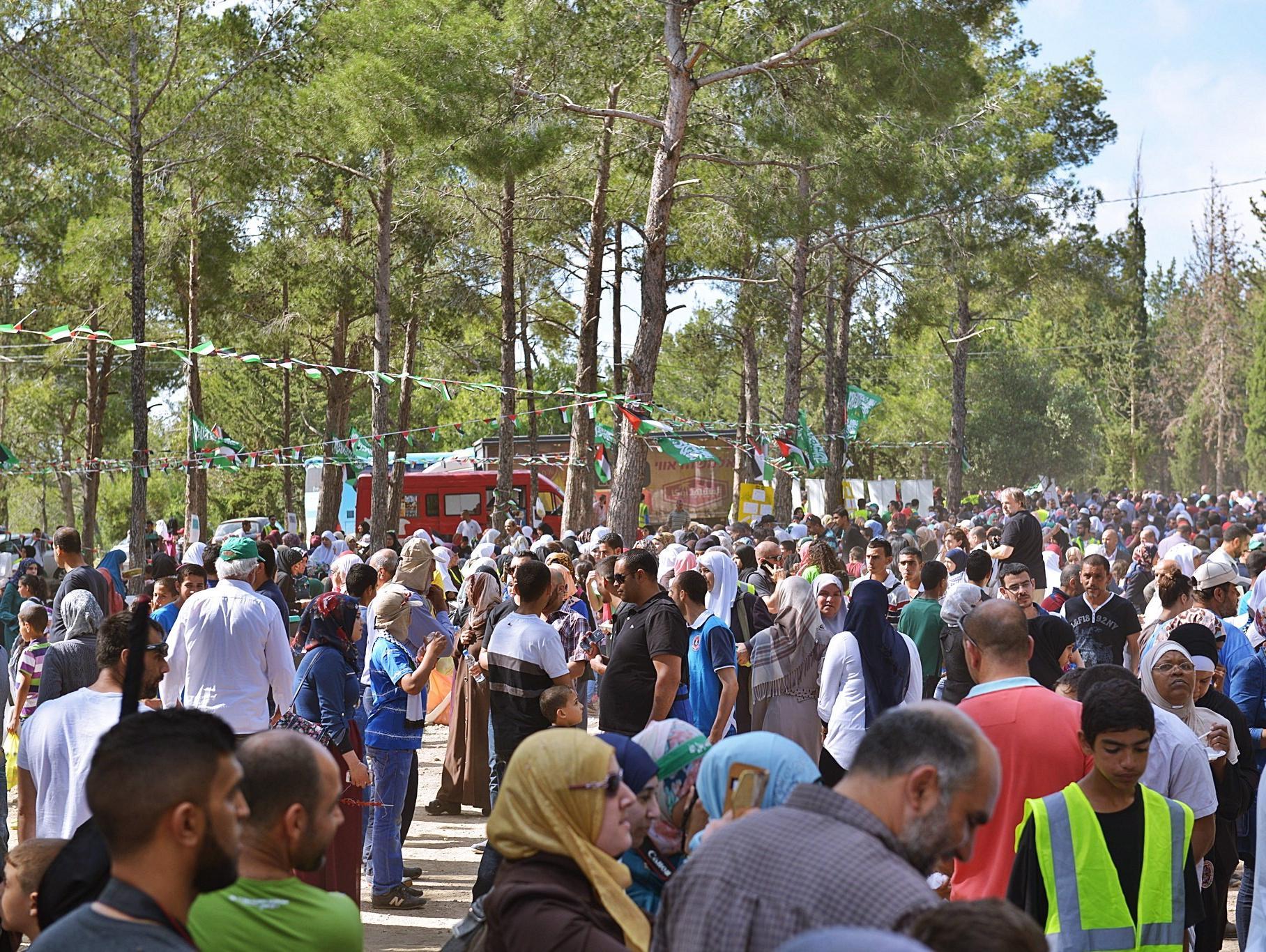 למרות מחאת התושבים: צעדת מחאה של הציבור הערבי התקיימה בעתלית