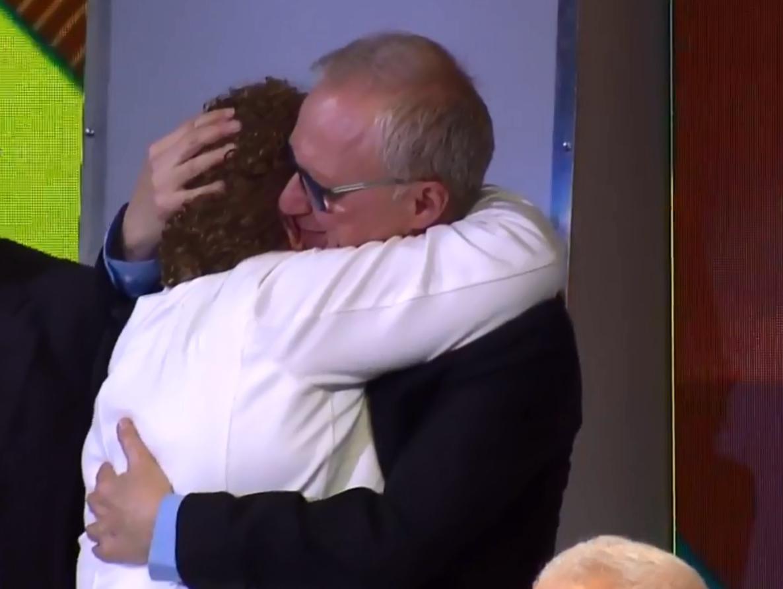 מרים פרץ בטקס פרס ישראל: