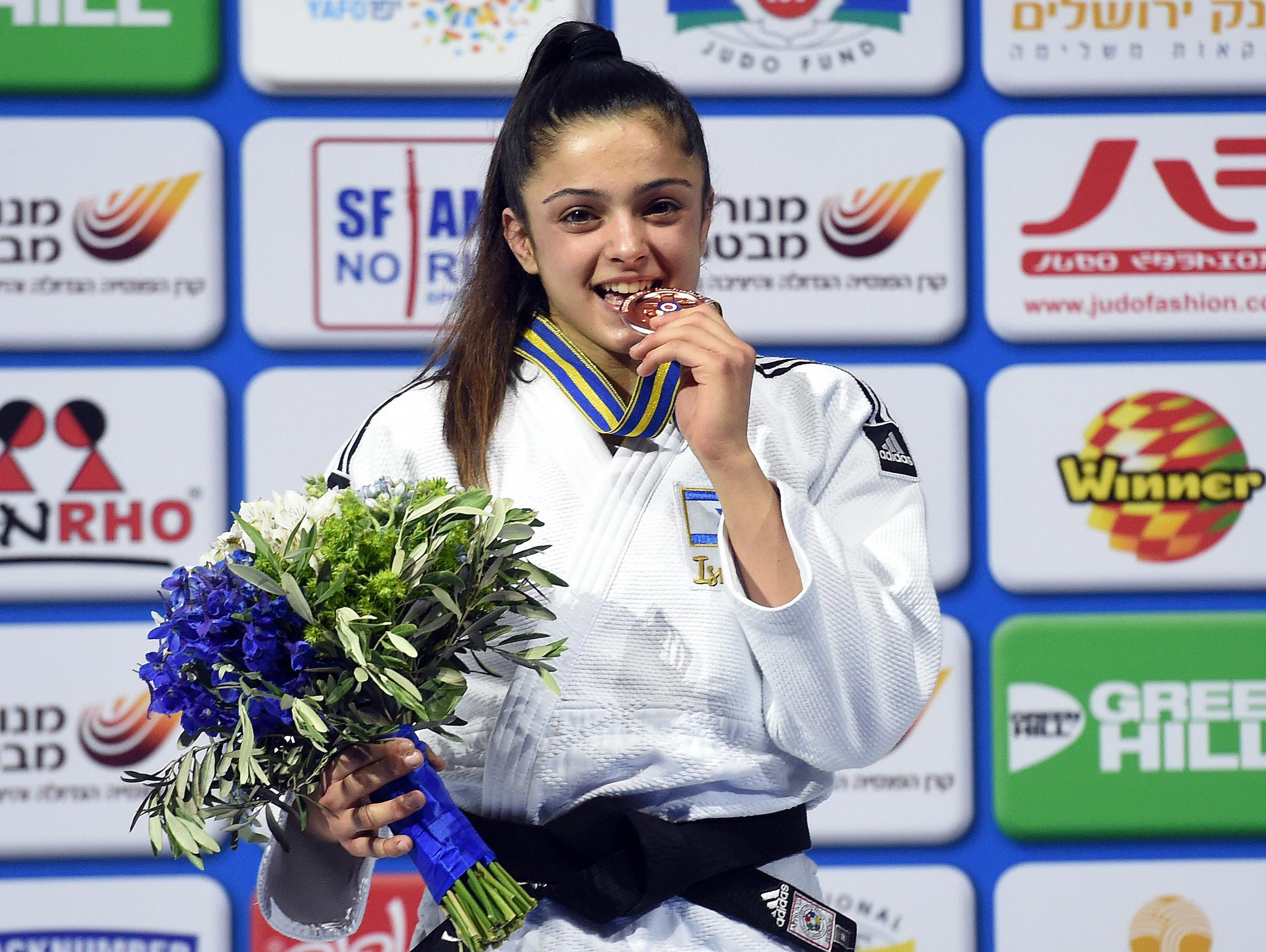 גפן פרימו זכתה במדליית כסף באליפות העולם עד גיל 21