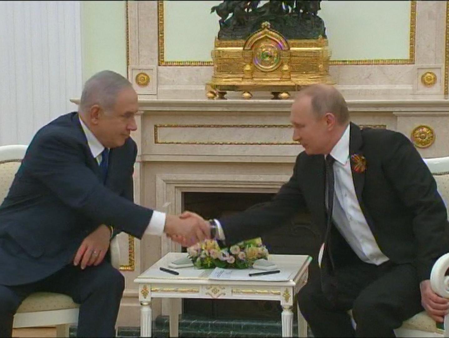 נתניהו שוחח עם פוטין: שיתוף הפעולה בנעשה בסוריה יחוזק