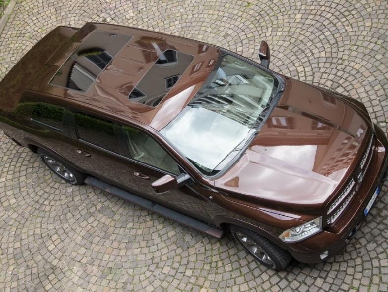 בחלומות של אל באנדי: דודג' ראם הופך ל-SUV ברבע מיליון דולר