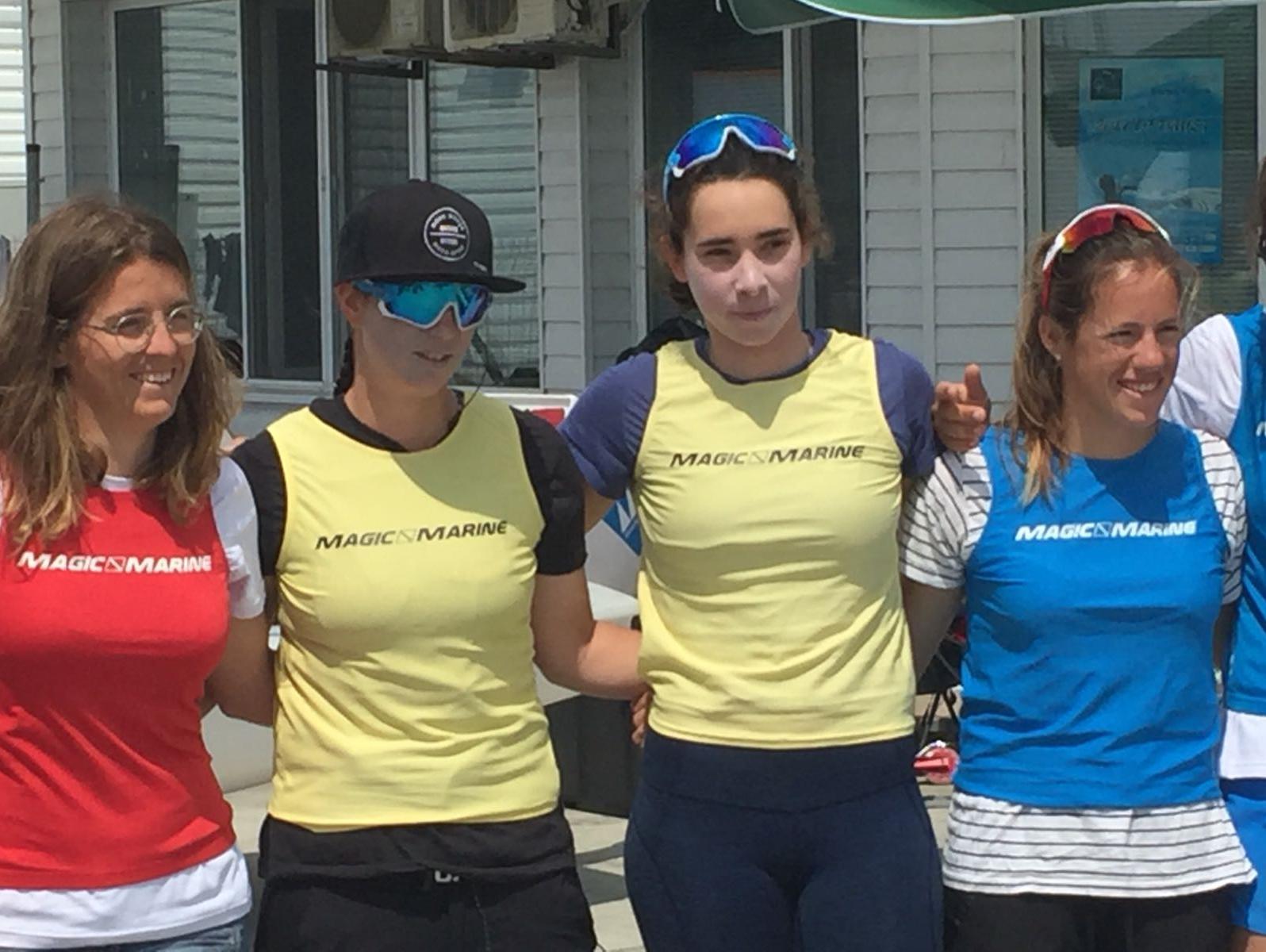 שייט: גיל כהן ונועה לסרי ממשיכות להוביל באליפות אירופה בבורגס