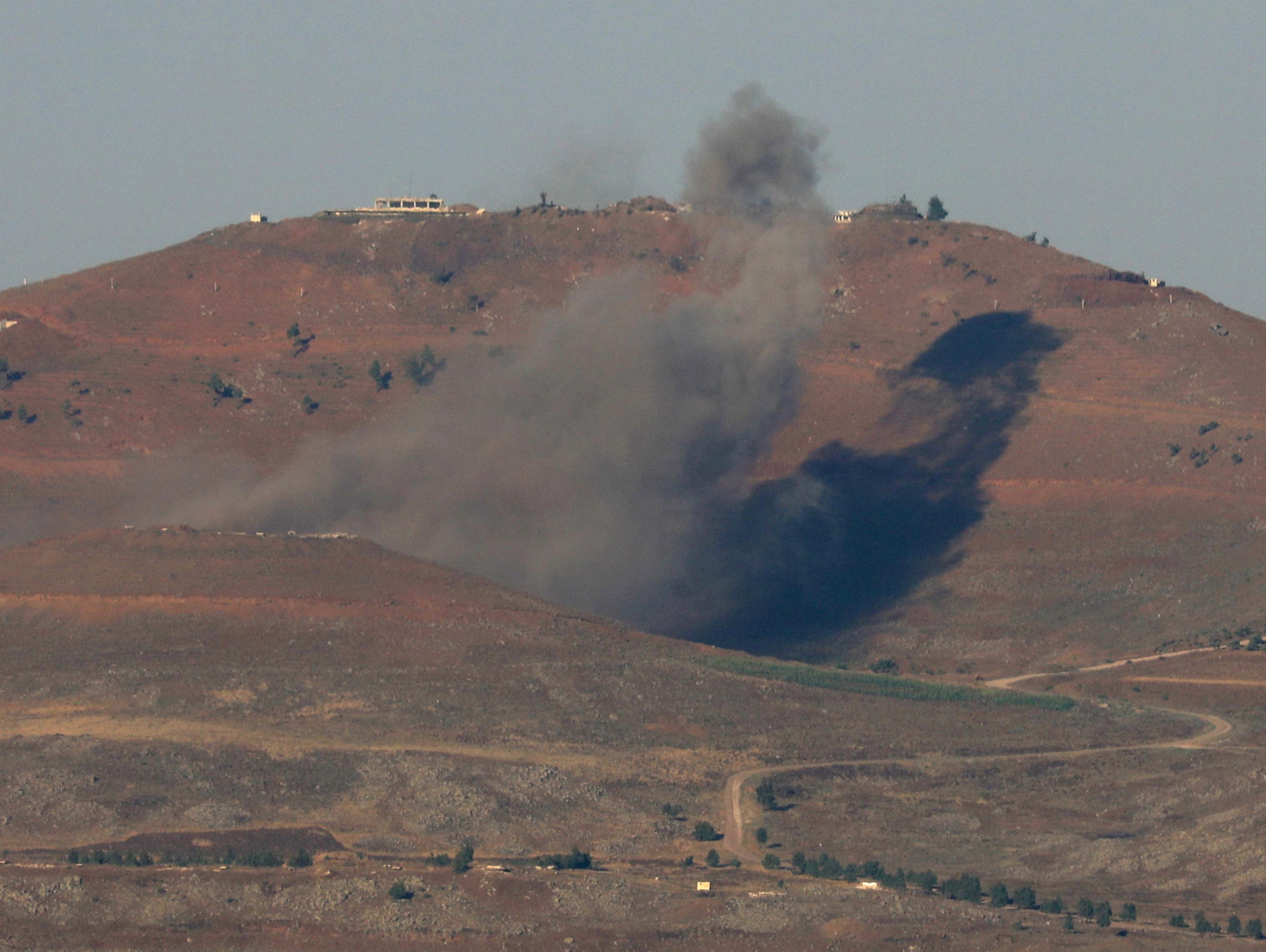 משקיפים על ישראל: צבא סוריה כבש גבעה אסטרטגית סמוך לגבול